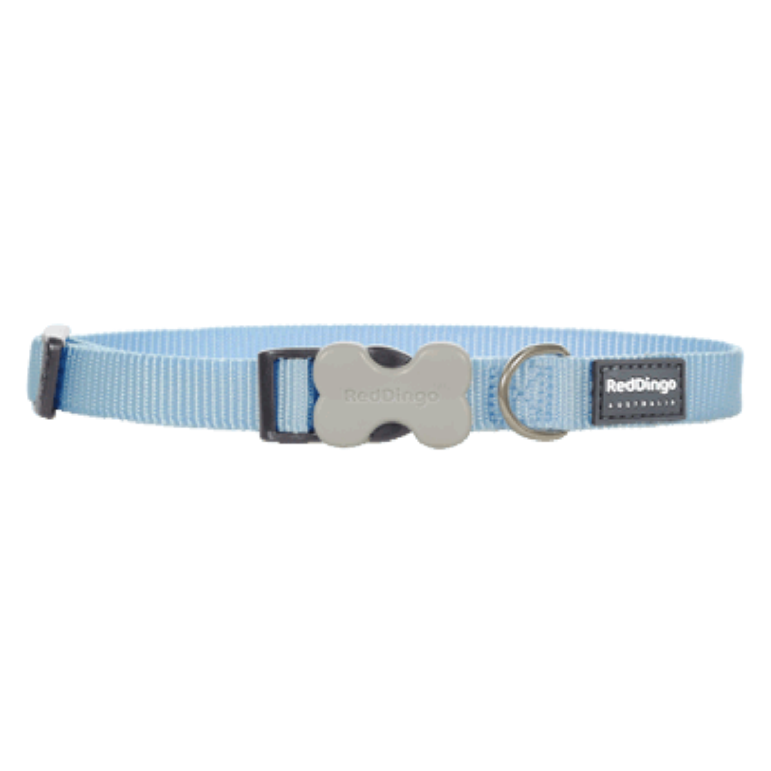 Red Dingo Bucklebone Collar - Classic Range (Medium Blue)