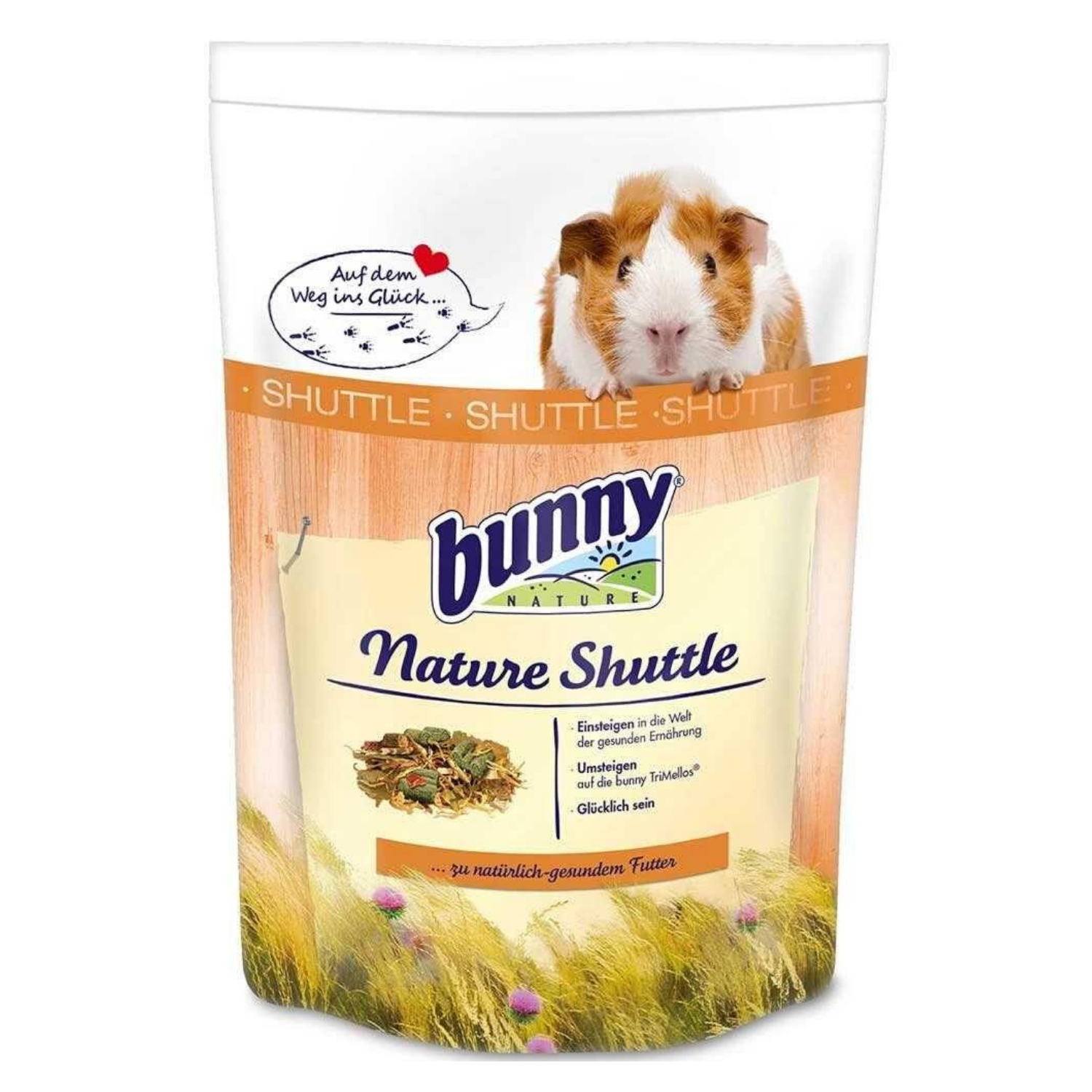 Bunny Nature Shuttle Guinea Pig - 600g