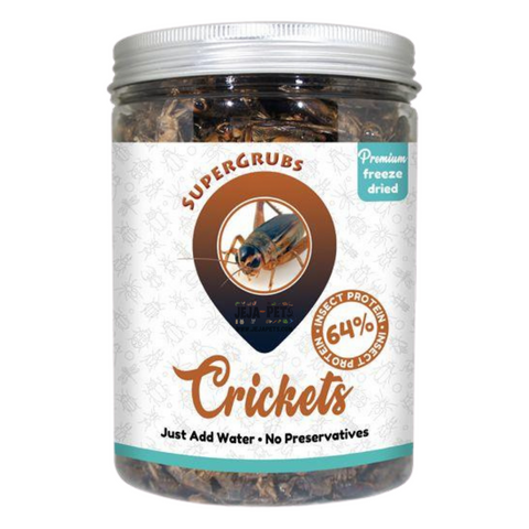 Supergrubs Freeze Dried Crickets - 75g / 400g
