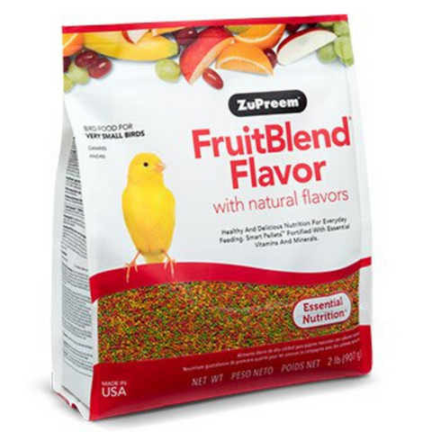 ZuPreem FruitBlend Flavour with Natural Flavors - X-Small Birds - 907g / 4.54kg