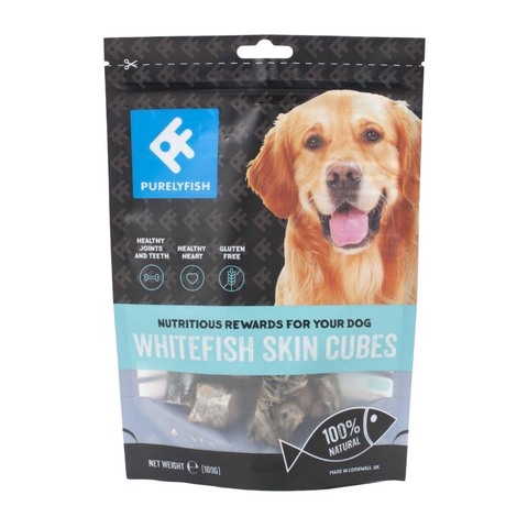 PurelyFish (Whitefish Skin) Cubes for Dogs