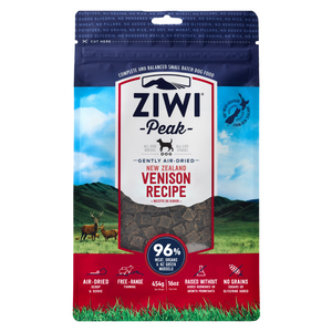 ZIWI Peak Air-Dried (Venison) Dog Food - 454g / 1kg / 2.5kg
