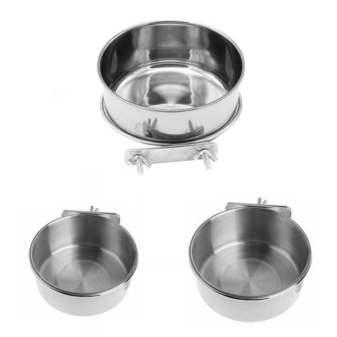Stainless Steel Feeder Bowl