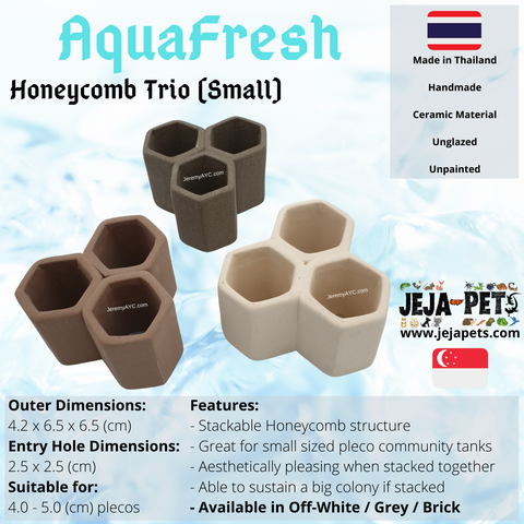 Aquafresh Honeycomb Trio (Small)