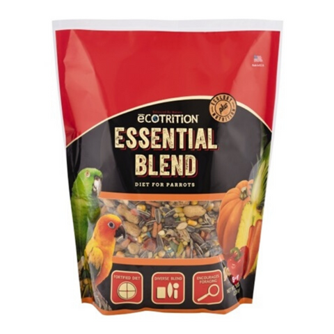 Ecotrition Essential Blend Food - Parrots & Conures - 2.27kg