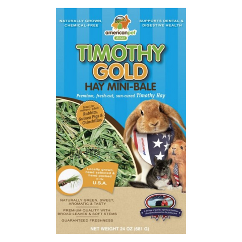 [PREORDER] American Pet Diner Timothy Gold Hay - 680g / 2.27kg
