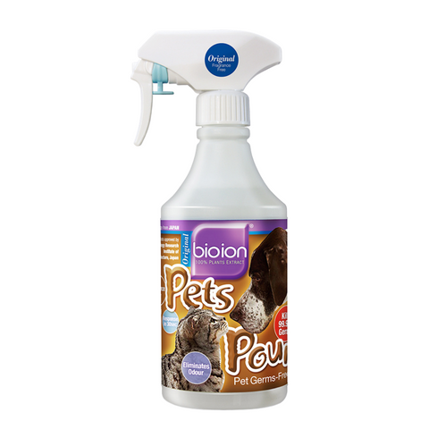 Bioion Pets Pounce Sanitizer - Original - 15ml / 60ml / 500ml