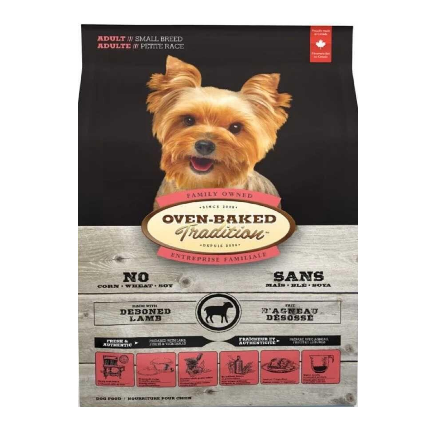 Oven Baked Tradition (Lamb) For Adult Small Breed Dogs - 2.27kg