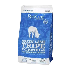 PetKind (Green Lamb Tripe) Formula Grain Free Dry Dog Food - 2.72kg / 11.34kg