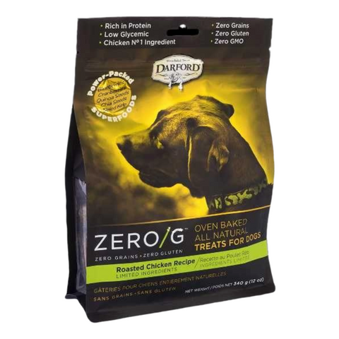 Darford Zero/G (Roasted Chicken) for Dogs - 170g / 340g
