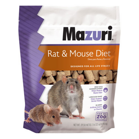 Mazuri Rat & Mouse Diets (Lab Blocks) - 907g / 11.34kg