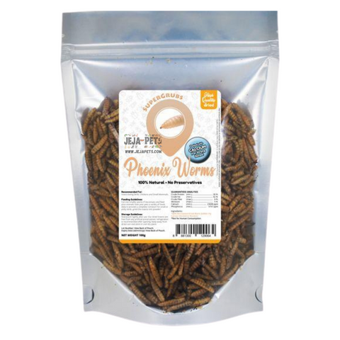 Supergrubs Dried Phoenix Worms - 100g / 400g