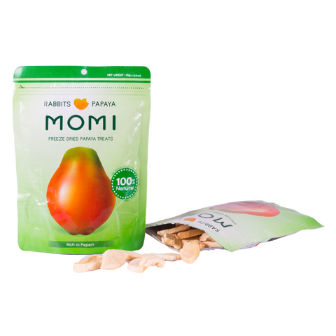 Momi Dried Papaya Treats - 15g