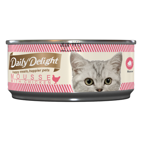 Daily Delight Mousse with Chicken - 80g
