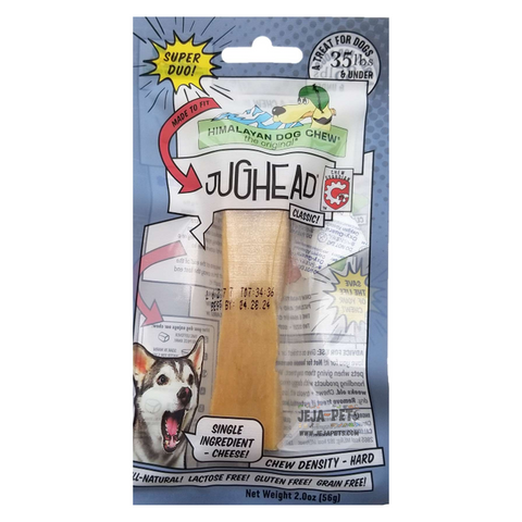 Himalayan Pet Supply Jughead Cheese Dog Chew Hard Density - Classic / Super