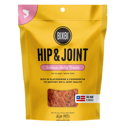 BIXBI Hip & Joint Salmon Jerky Treats for Dogs - 113g
