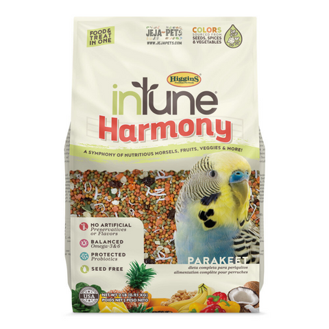 Higgins inTune® Harmony Parakeets - 907g