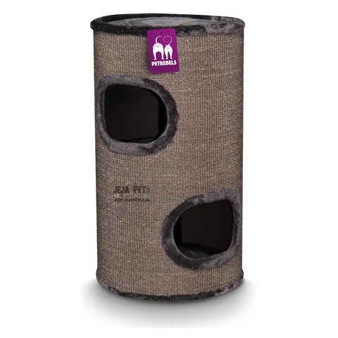 Petrebels Champions Only Dome 80 Cat House - Brown