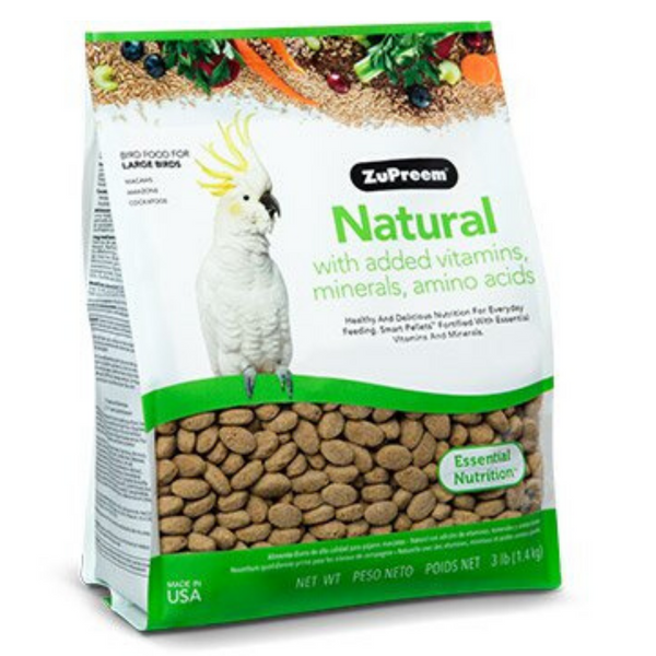 ZuPreem Natural - Large Birds - 1.36kg
