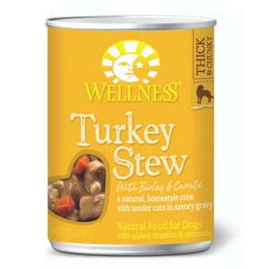 Wellness Complete Health Homestyle Stew (Turkey Stew with Barley & Carrots)