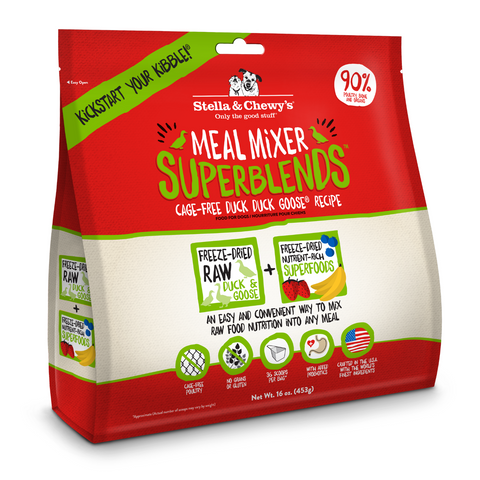 Stella & Chewy's Meal Mixer Superblends (Cage-Free Duck Duck Goose) - 454g