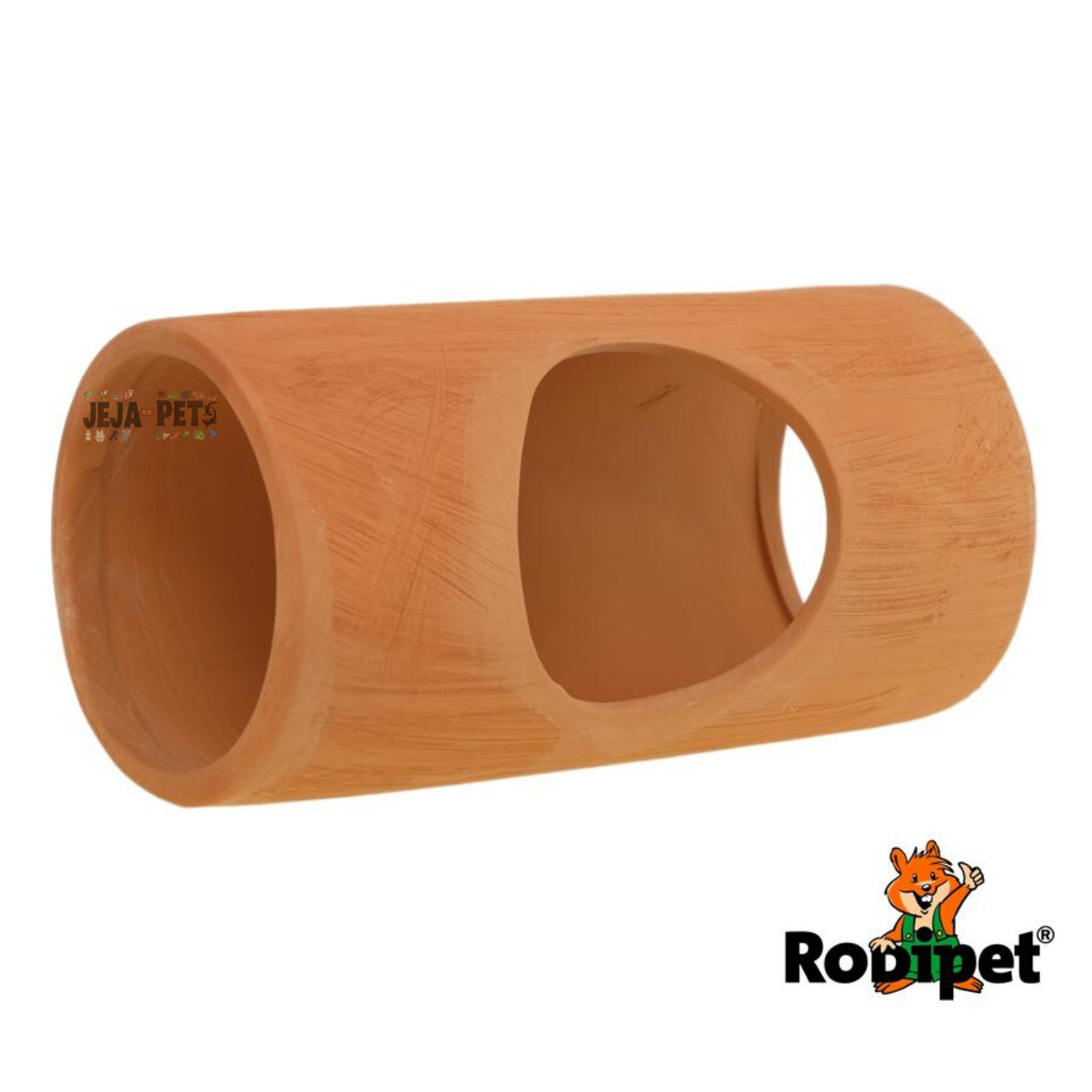 Rodipet EasyClean TERRA Ceramic Tube with Side Entrance - 20cm