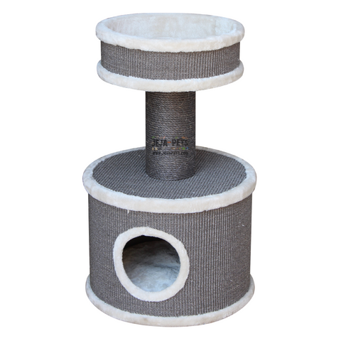 Petrebels Champions Only Tower 80 Cat Tree - Cream