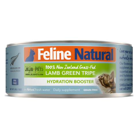 Feline Natural Lamb Green Tripe Hydration Booster - 85g