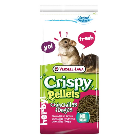 Versele-Laga Crispy Pellets Chinchillas and Degus - 1kg