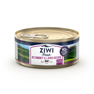 ZIWI Peak (Rabbit & Lamb) Canned Cat Food - 12 Cans x 85g