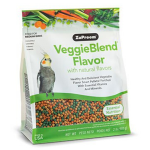 ZuPreem VeggieBlend - Medium Birds - 907g