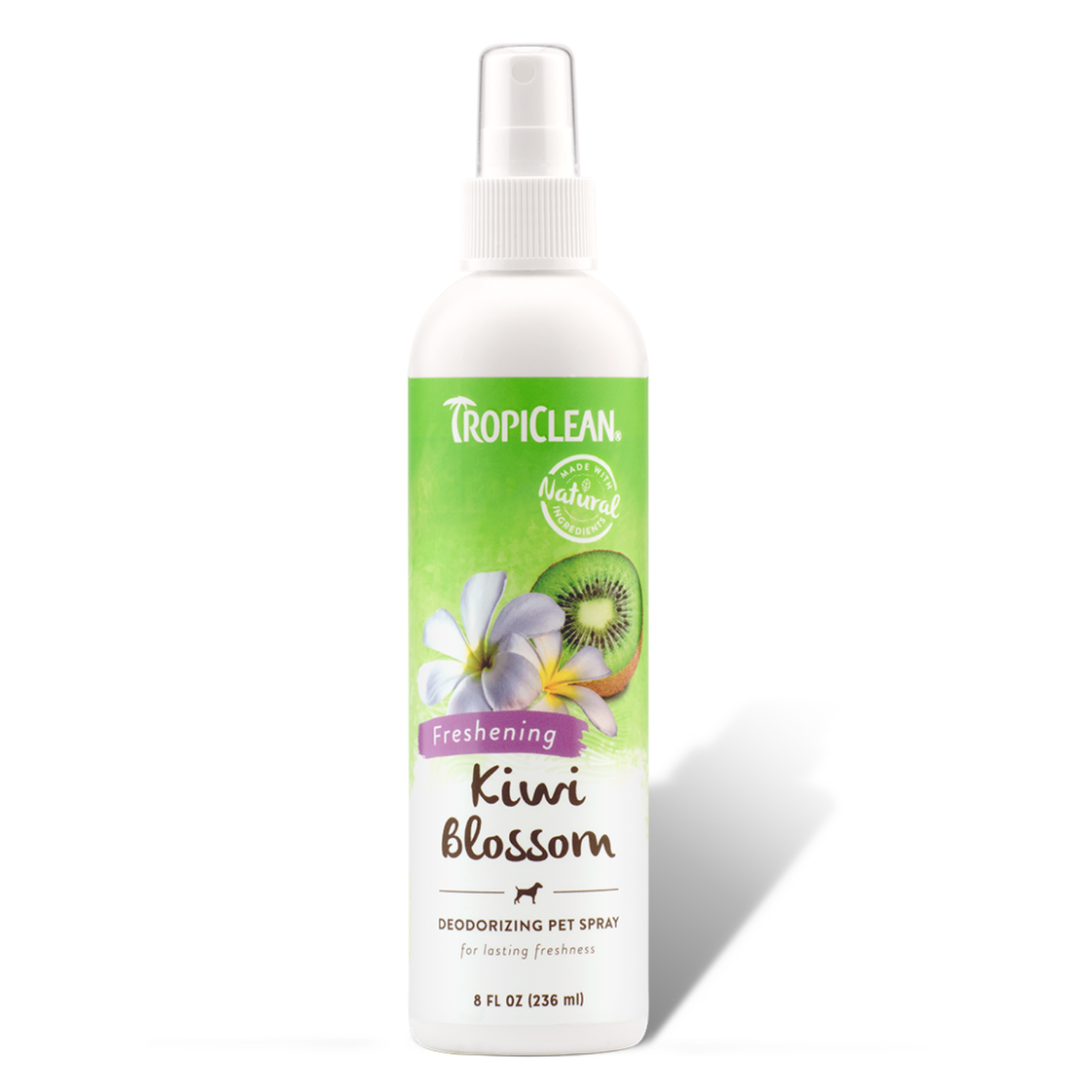 Tropiclean Kiwi Blossom Deodorizing Pet Spray - 236ml