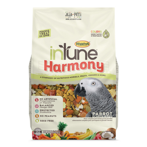 Higgins inTune® Harmony Parrot - 1.36kg