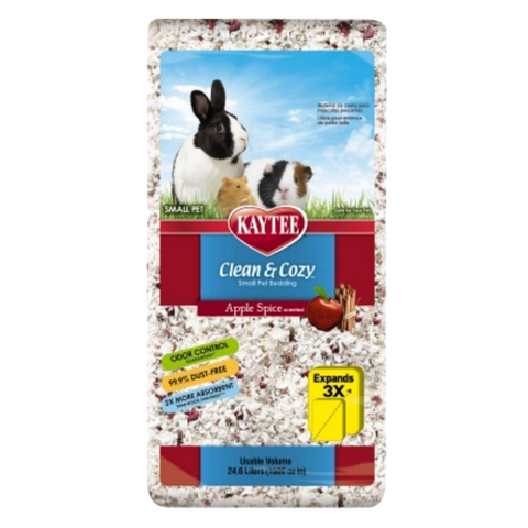 Kaytee Clean & Cozy Bedding (Apple Spice) - 24.6L