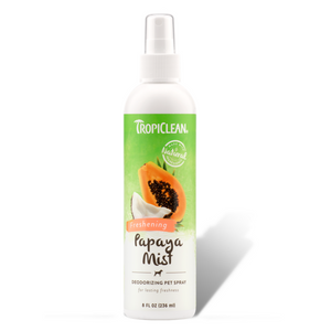 Tropiclean Papaya Mist Deodorizing Pet Spray - 236ml