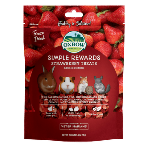 Oxbow Simple Rewards (Strawberry) - 15g