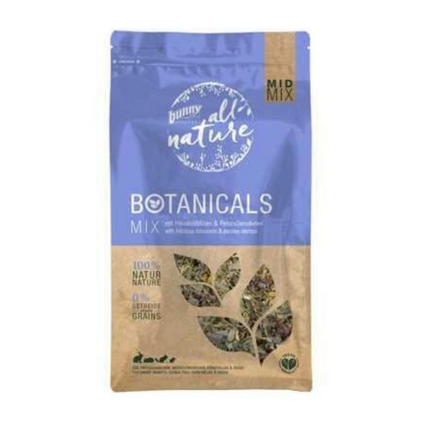Bunny Nature Botanicals Mid Mix (Hibiscus Blossoms & Parsley) - 150g