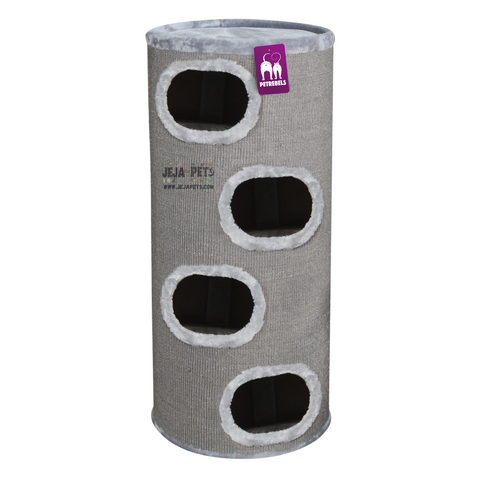 Petrebels Champions Only Giant Dome 120 Cat House - Grey
