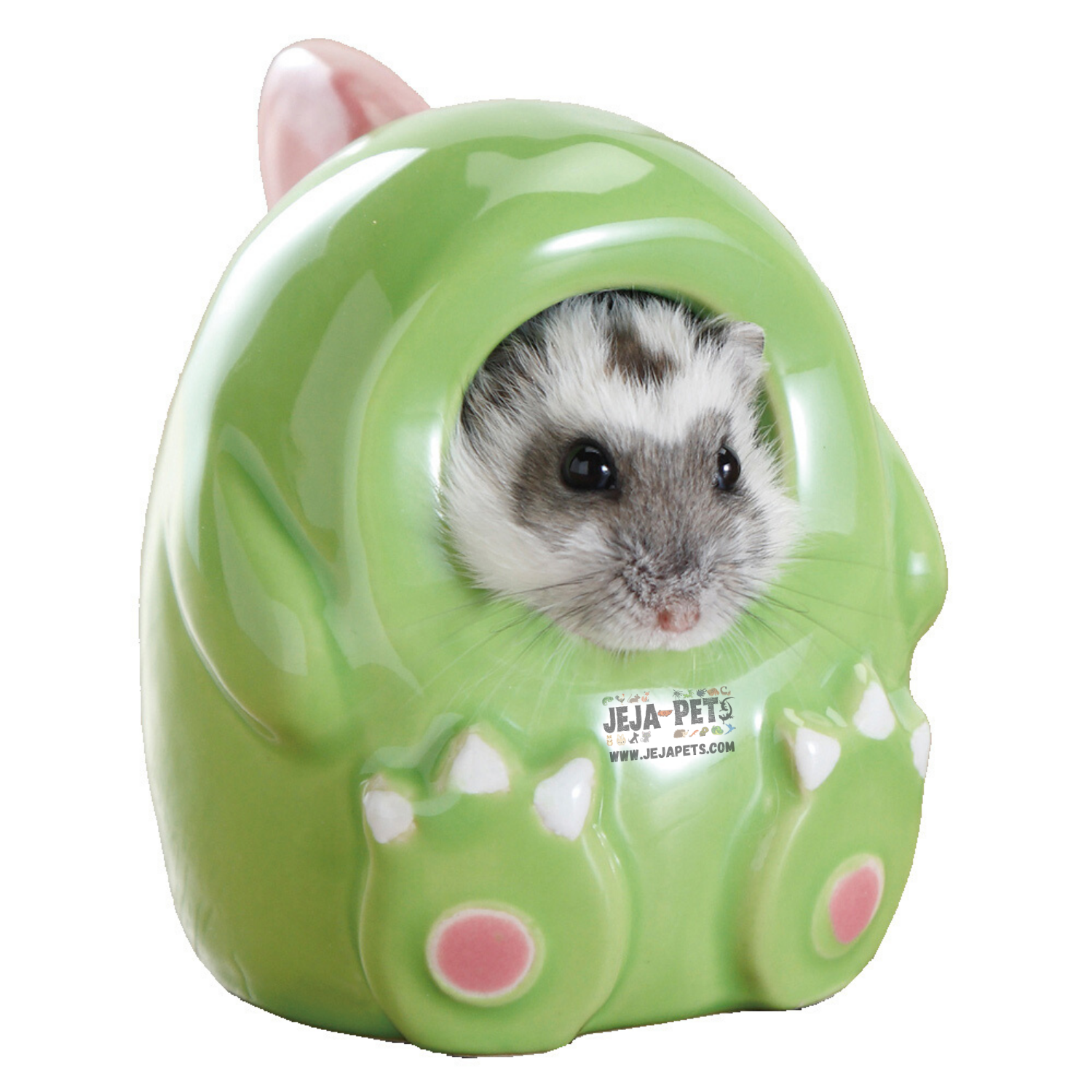 Marukan Costume House for Hamsters - Dinosaur