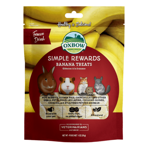 Oxbow Simple Rewards (Banana) - 30g