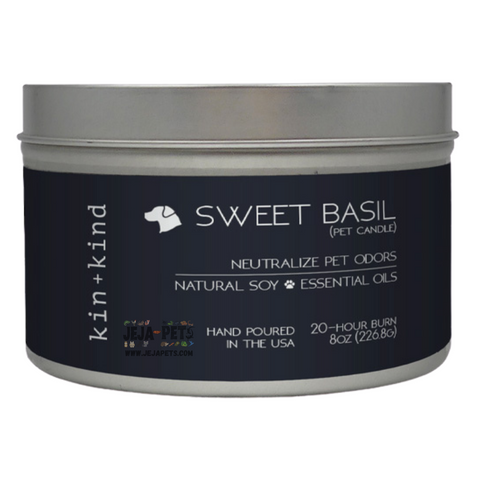 Kin+Kind Sweet Basil Candle - 226.8g