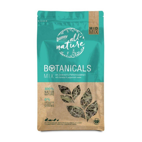 Bunny Nature Botanicals Mid Mix (Horsetail & Peppermint Leaves) - 120g