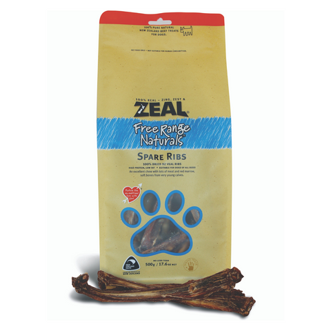 Zeal Free Range Naturals Spare Ribs - 200g / 500g