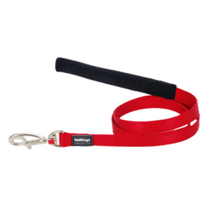 Red Dingo Fixed Dog Leads - Classic Range (Red)