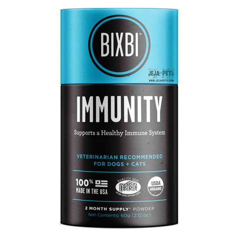 BIXBI Immune Support Powdered Mushroom Supplement - 60g