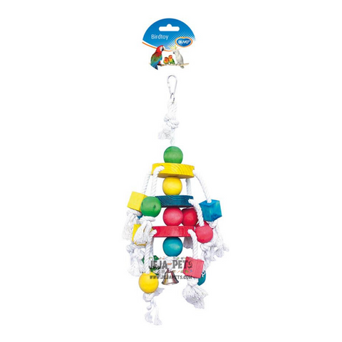 Duvo+ Cluster Rope with Colorful Cubes - 35cm