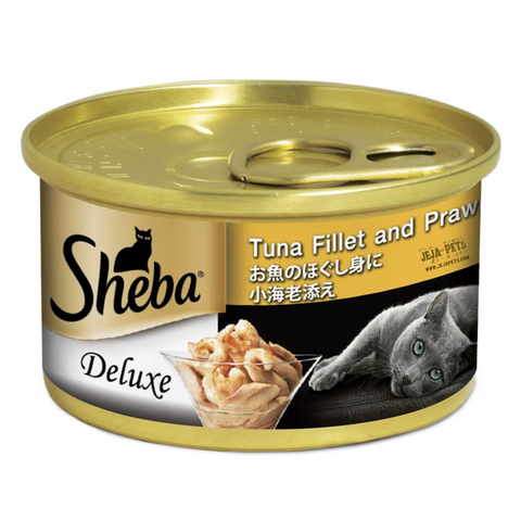 Sheba Tuna with Prawn in Jelly Wet Cat Food - 85g