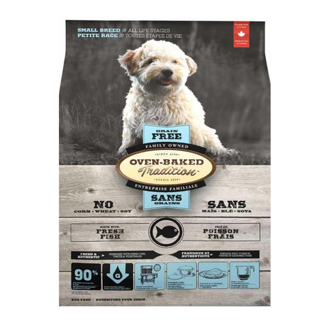 Oven-Baked Tradition Grain Free (Fish) for Small Breed Dog - 2.27kg / 5.67kg