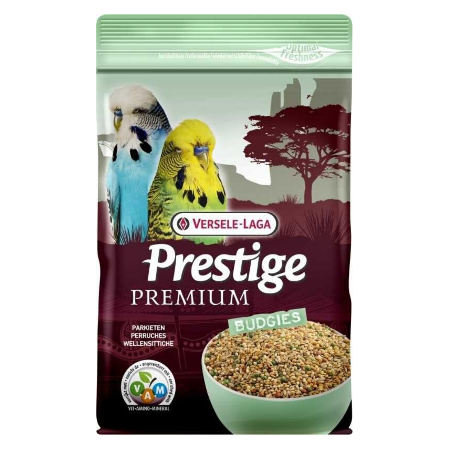 Versele Laga Prestige Premium Seed Mixture for Budgies - 1kg / 2.5kg