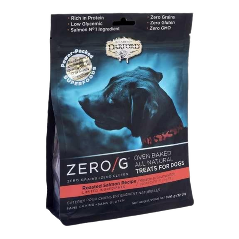 Darford Zero/G (Roasted Salmon) for Dogs - 170g / 340g
